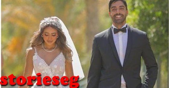 هند عبد الحليم وزوجها