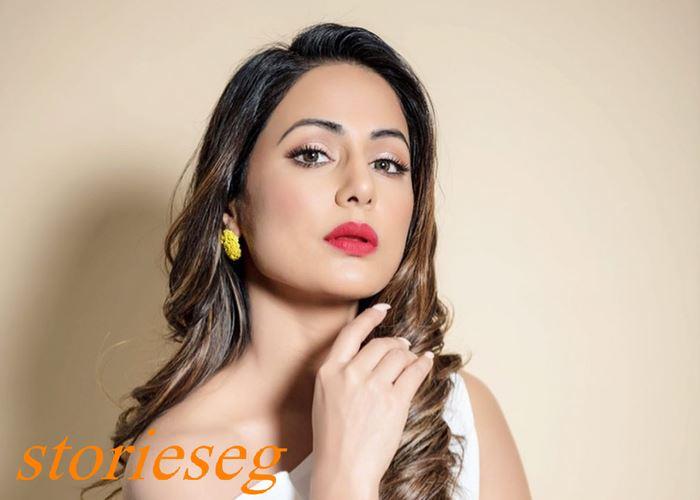 الممثلة الجميلة هنيا خان