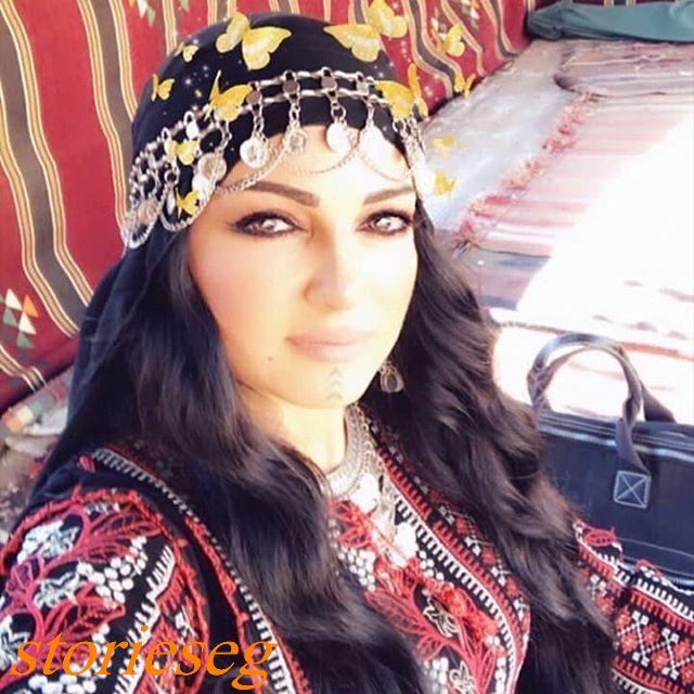 صفاء سلطان بطلة مسلسل رياح السموم