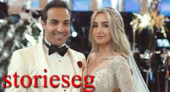 احمد فهمي من حفلة زفافه