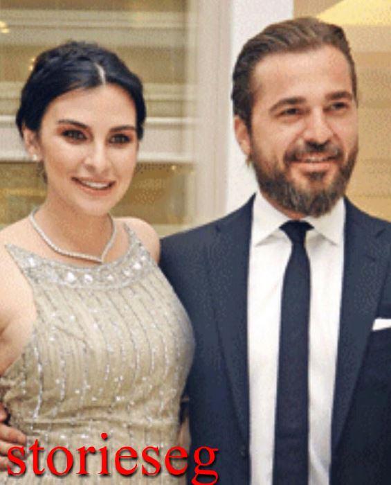 النجم انجين التان وزوجته