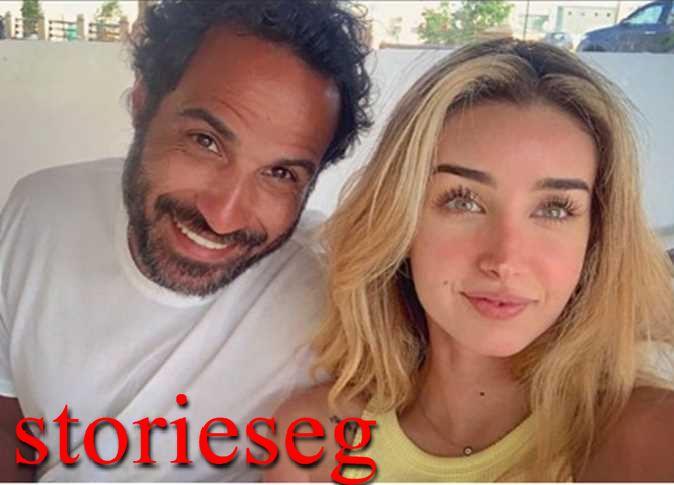 سيلفي احمد فهمي وزوجته هنا الزاهد