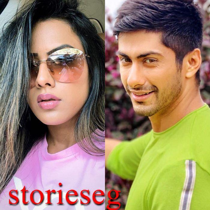ناميت خان و الفنانة سوربي تشاندنا