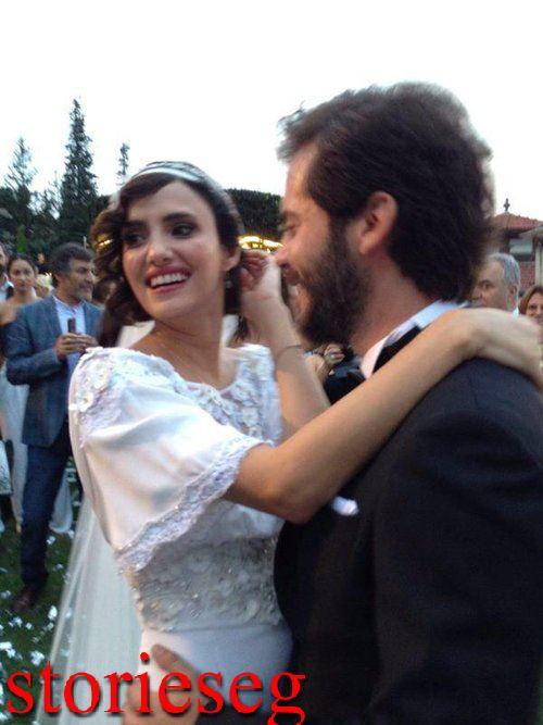 نهير اردوغان من حفلة زفافها