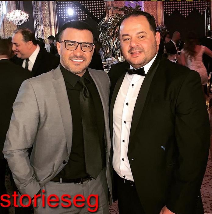 محمد رجب والمخرج اسماعيل فاروق