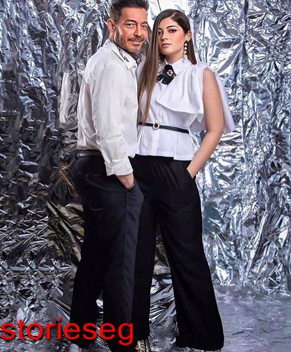 احمد زاهر و ابنته ليلي