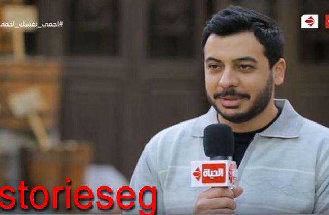الممثل أحمد كمال أبو رية