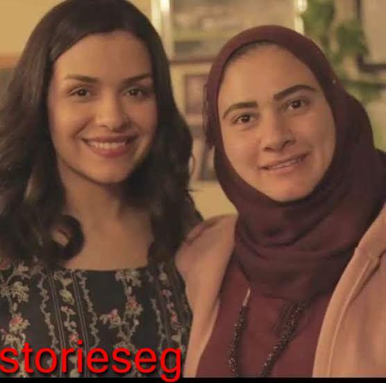 سارة عادل مع زوجت الشهيد احمد المنسي