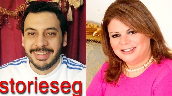 صورة تجمع أحمد كمال أبو رية مع والدته