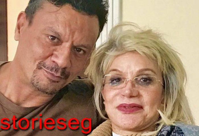 عباس ابو الحسن و والدته شمس الاتربي