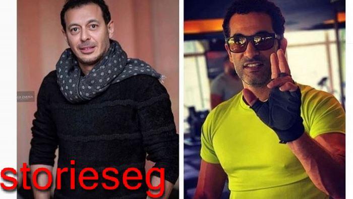 عمرو سعد ومصطفي شعبان ابطال المسلسل
