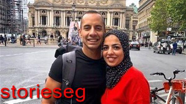عمرو وهبة و زوجته
