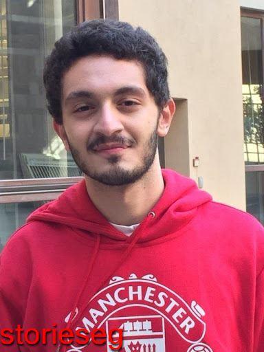 يوسف عثمان وهو صغير