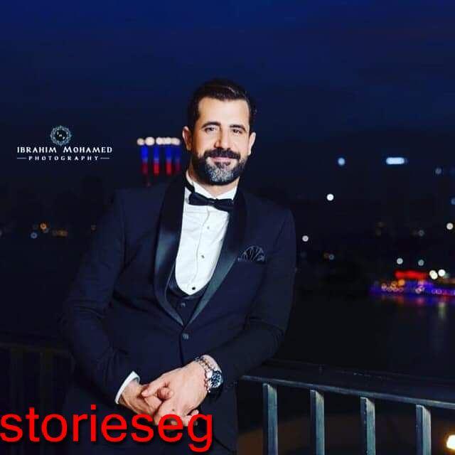 محمود حافظ ببدلة العرس