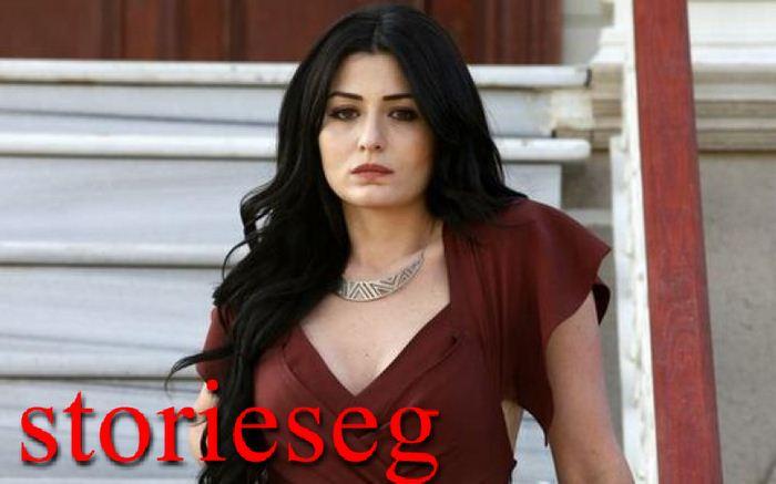 التركية دينيز شاكر بطلة المسلسل