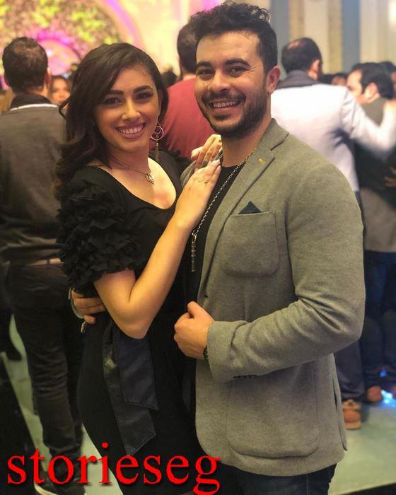 النجم طه خليفة والممثلة ريم احمد
