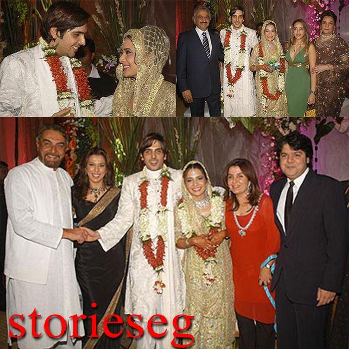 حفلة زفاف زايد خان