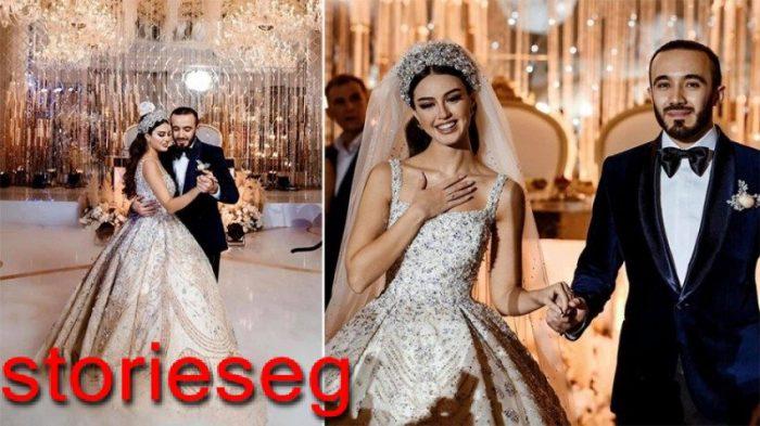 مريم ناظم في حفل زفافها