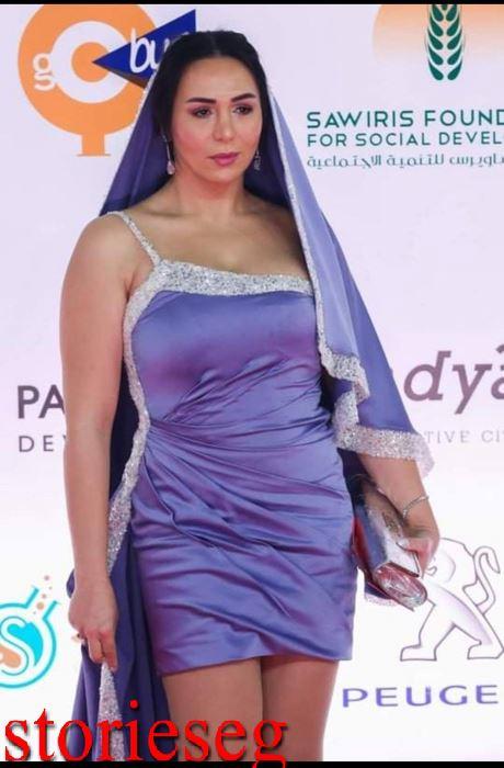 إيناس شيحة في مهرجان القاهرة السينمائي