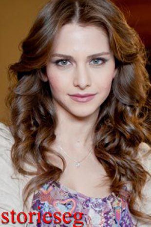 الممثلة التركية ايزجي اساروغلو
