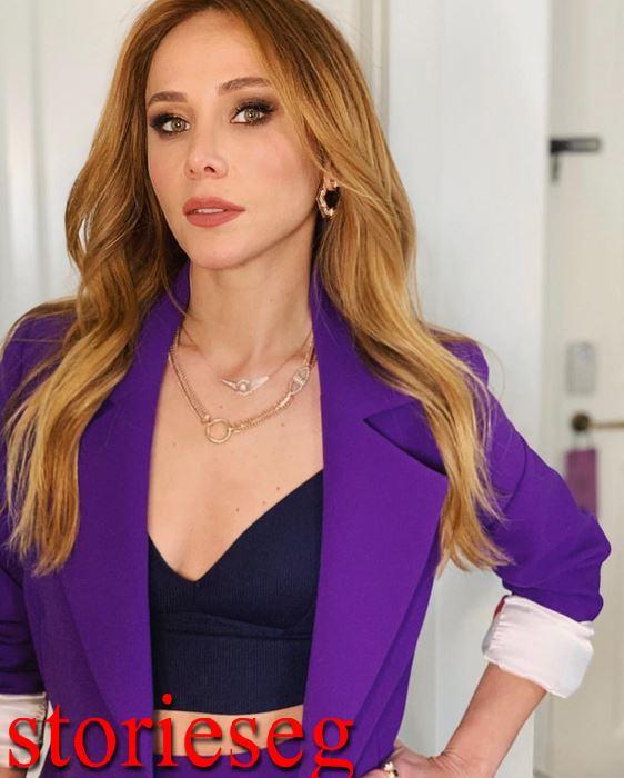 الممثلة التركية بورتشين تيرزي أوغلو