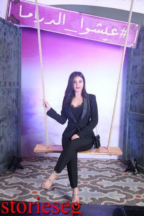 الممثلة التونسية رشا بن معاوية