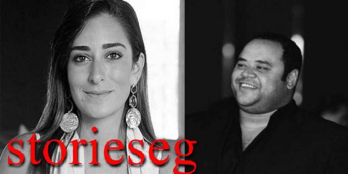 امينة خليل ومحمد ممدوح ابطال العمل