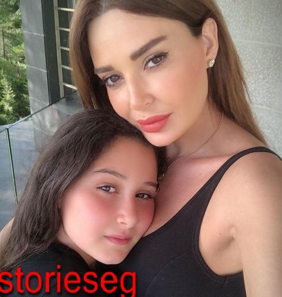 سيرين عبد النور و ابنتها تاليا