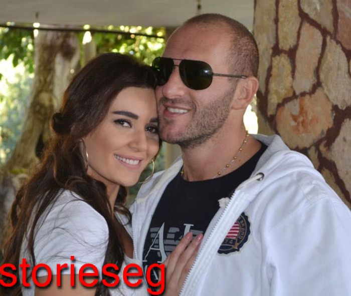 سيرين عبد النور و زوجها